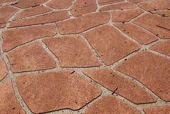 текстура затрафареченная подъездной дорогой Стоковая Фотография RF