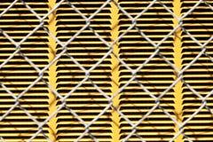 Текстура звена цепи Стоковые Изображения