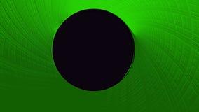 Текстура зеленого цвета конспекта спиральная с космосом экземпляра круга иллюстрация штока