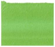 Текстура зеленой бумаги Стоковое Фото