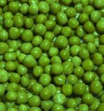 текстура зеленых горохов Стоковые Фотографии RF