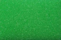 Текстура - зеленая губка Стоковые Фото
