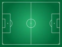 текстура зеленого цвета травы футбола поля предпосылки Стоковая Фотография
