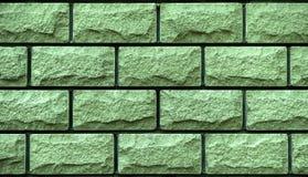 Текстура зеленых декоративных плиток Стоковые Фотографии RF