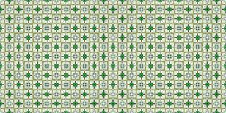 Текстура зеленых квадратов с лепестками Стоковое фото RF