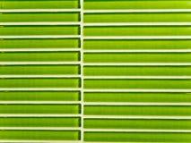 Текстура зеленых керамических плиток Стоковое Фото