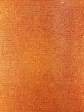 Текстура золота картины ткани на стене стекел Стоковое Изображение