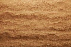 Текстура золота бумажная, конец вверх Стоковое фото RF