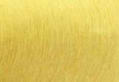Текстура золота почищенная щеткой сталью Стоковые Изображения