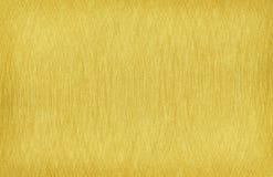 Текстура золота почищенная щеткой сталью Стоковое Фото