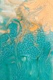 Текстура дизайна голубая и желтая, предпосылка Стоковое Изображение