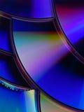 Текстура диска КОМПАКТНОГО ДИСКА/DVD для предпосылки Стоковое фото RF