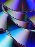 Текстура дисков КОМПАКТНОГО ДИСКА/DVD для предпосылки Стоковое Изображение RF