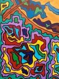 Текстура искусства картины Стоковое Изображение