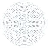 Текстура искусства попа для плаката, картина полутонового изображения с точкой и круги Переплетенная картина grunge, предпосылка  бесплатная иллюстрация