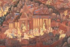 текстура искусства тайская Стоковая Фотография RF