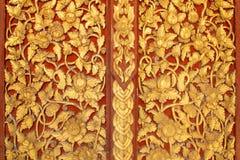 текстура искусства тайская Стоковые Фото