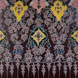 текстура искусства тайская Стоковое Фото