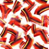 Текстура искусства Absrtract безшовная с щеткой acrilyc штрихует и закрывает покрашенная рука предпосылки Современный дизайн наши иллюстрация штока