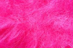 Текстура искусственних розовых волос грязная Стоковые Фотографии RF
