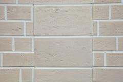 Текстура - искусственное façade декоративного камня Текстура предпосылки каменной стены декоративного серого цвета грубая Стоковые Изображения RF