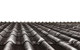 Текстура листа крыши цемента волокна Стоковое Изображение RF