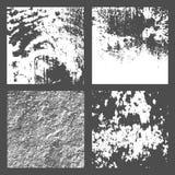 Текстура дистресса Grunge черно-белая Стоковые Изображения