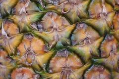 Текстура или предпосылка ананаса Стоковые Изображения