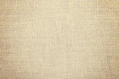 Текстура или предпосылка ткани джута естественные Стоковое Изображение RF