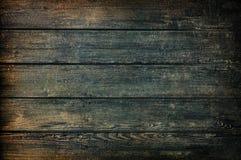 Текстура или предпосылка Grunge темные деревянные Стоковая Фотография RF