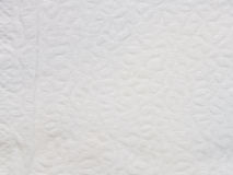 Текстура и предпосылка белой салфетки Стоковая Фотография