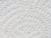 Текстура и предпосылка белой салфетки Стоковое Фото