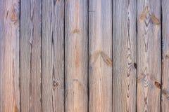 Текстура и предпосылка вертикальных деревянных доск естественного цвета Стоковые Фотографии RF