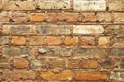 Текстура и предпосылка кирпичной стены Стоковая Фотография RF
