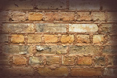Текстура и предпосылка кирпичной стены Стоковые Фотографии RF