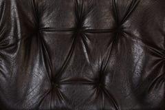 Текстура и предпосылка софы кожаные Стоковая Фотография RF