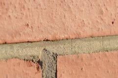 Текстура и цемент кирпича стоковая фотография