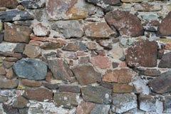 Текстура 1709 - каменная стена Стоковая Фотография
