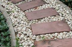 Текстура каменного пути Стоковые Изображения RF
