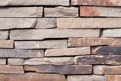 Текстура каменной кладки gorizontal Стоковая Фотография