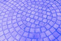 Текстура каменной мостоваой Булыжник гранита Аннотация стоковое изображение