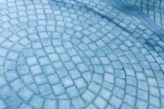 Текстура каменной мостоваой Булыжник гранита Аннотация стоковые изображения rf