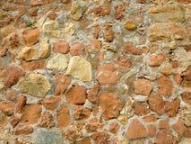 Текстура каменной стены Брайна стоковые изображения rf