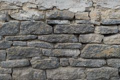 Текстура каменной стены от каменных кирпичей Справочная информация Стоковое Изображение