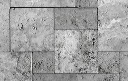 Текстура каменной стены, травертин кроет смотреть на черепицей камень Стоковые Фото