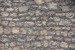 Текстура каменной стены Стоковые Фотографии RF