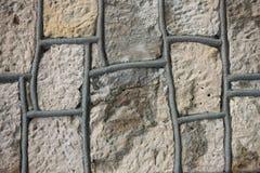 Текстура каменной стены Стоковое фото RF