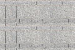 Текстура каменных блоков гранита безшовная серая Стоковая Фотография