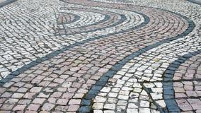 текстура камня выстилки предпосылки Стоковые Изображения