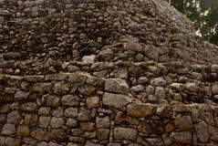 Текстура камня Coba, Мексика, Юкатан Стоковые Фотографии RF